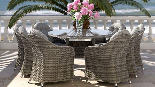 Livia Xl Gartenmobel Sets Aussenmobel Tisch Und Stuhle