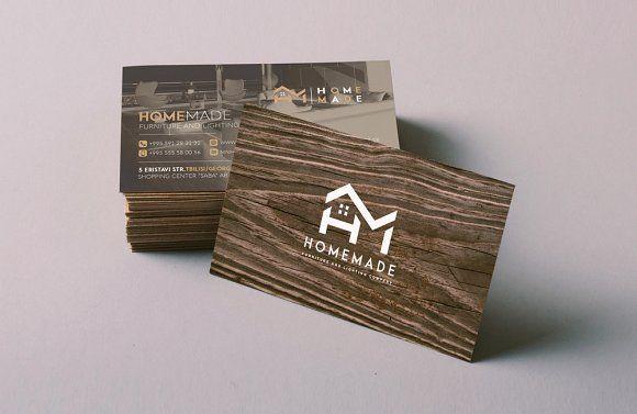 Wooden Business Card Wooden Business Card Business Card Template Design Business Card Design