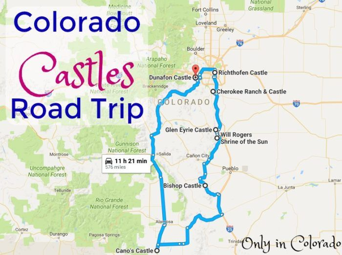 This Road Trip To Colorado's Most Majestic Castles Is Like Something From A Fairytale