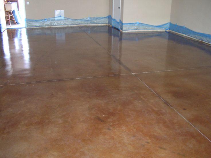 Acid wash concrete stained concrete ideas pinterest for Acid wash concrete floors