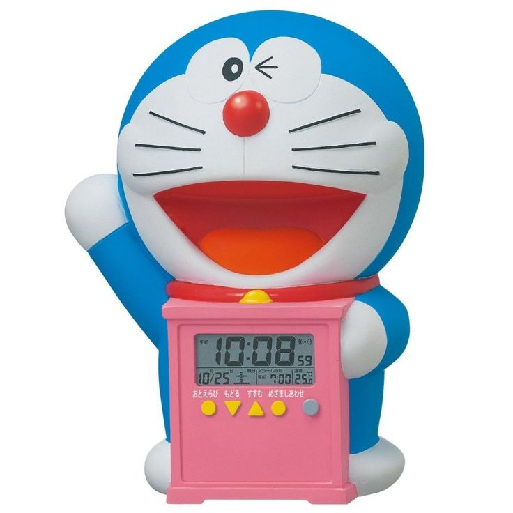 Japanese Animation DORAEMON Talking Alarm Clock from JAPAN Free Shipping #SEIKOCLOCK #Asian