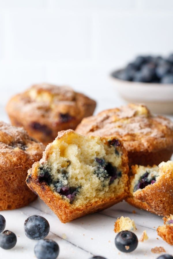 Blueberry Coffee Cake Muffins Love And Olive Oil Recipe In 2020 Blueberry Coffee Cake Muffins Coffee Cake Muffins Blueberry Coffee Cake
