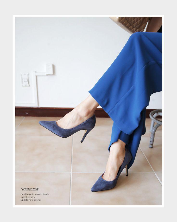 6COLORSスエード調ハイヒールパンプス・全6色シューズ・バッグシューズ・靴|レディースファッション通販 DHOLICディーホリック [ファストファッション 水着 ワンピース]