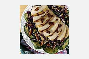 Toasted Pecan and Grilled Chicken Dijon Salad | Kraft Recipes