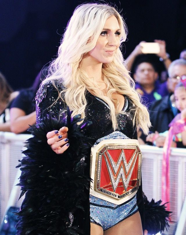 Raw Woman's Champion Charlotte