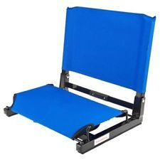 Stadium Seats For Bleachers With Backs Cushion Folding Chair Portable Padded New