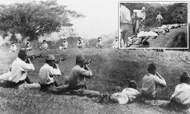 When Japanese troops used British Army prisoners as target practice