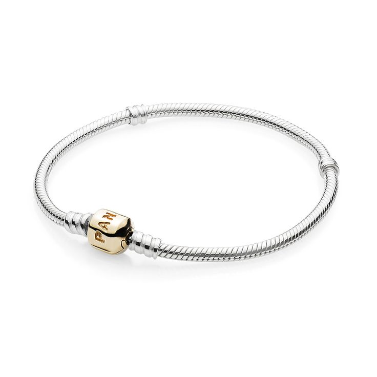 Sterling silver w14K gold clasp, Pandora Silver and Gold Bracelet features a 14ct gold Pandora clasp on a sterling silver 17cm bracelet.Product Description:Silver Bracelet14ct Gold Pandora Clasp17cm-23cm in LengthComes Complete With:Official Pandora PackagingBrand Pandora  Material Sterling SilverBrand code 590702HG Product type Bracelet      Jewel hut code 054101B  Stone typeColour  Theme      Gender Ladies , CA$289.98 10% OFF, Buy Now: http://www.pandoracanada2013.com/pandora-cha..