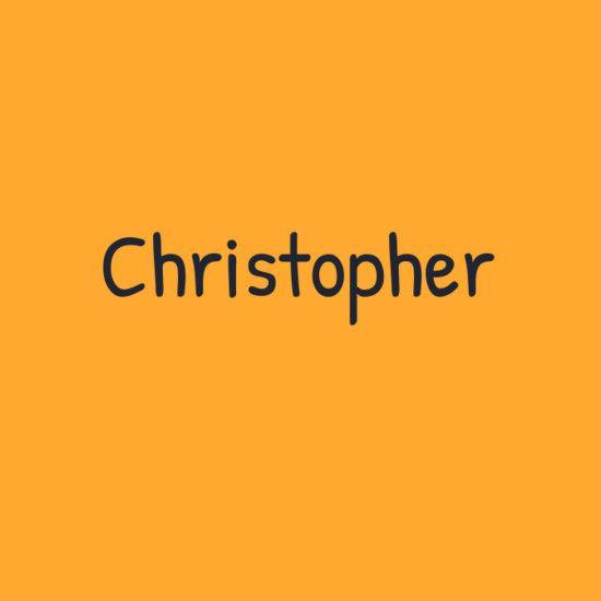 Christopher Baby Names Baby Boy Names Cute Names