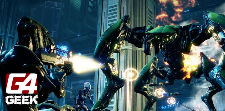 Watch This: Amazing Warframe PS4 Launch Trailer