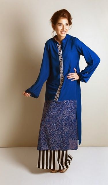 Kaam Asia Women's Silk Kurtas Collection-14 | Semi Formal Silk Kurtas Designs - Clothing9 | Fashion & Lifestyle Blog