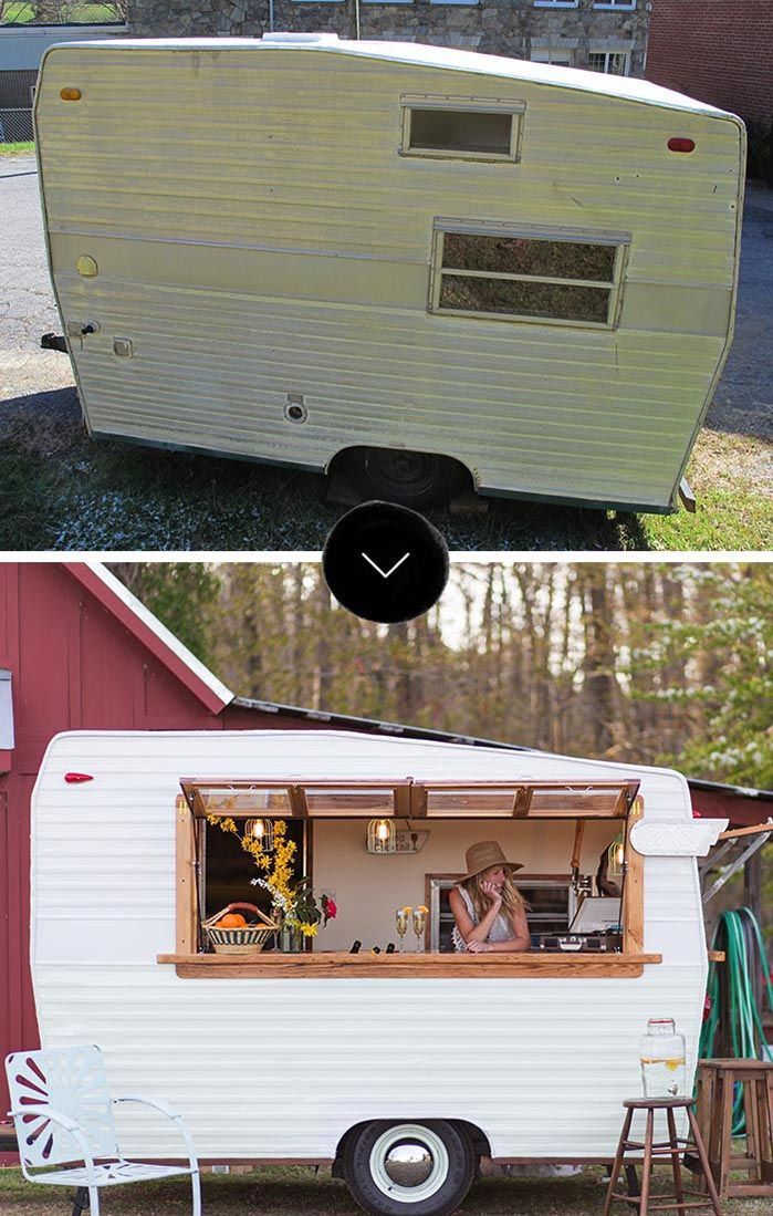Before & After: 1971 Shasta Camper Makeover | Design*Sponge