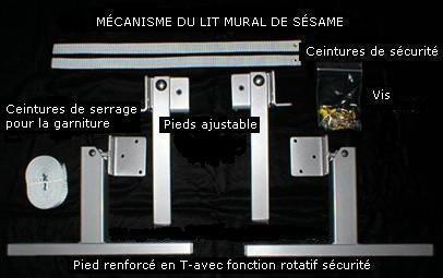 mecanisme lit escamotable