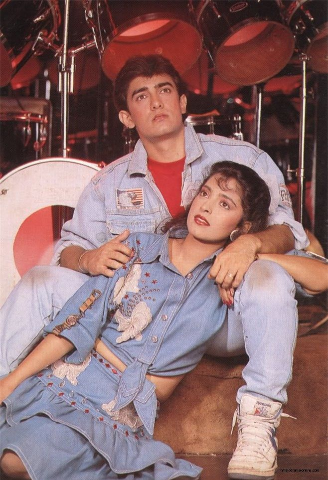 Aamir Khan and Juhi Chawla – Love Love Love (1988)