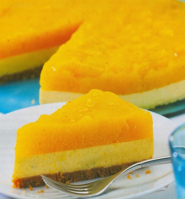 Jamaican Mango Cheesecake - If your not able to find the Jamaican ingredients I'm sure this would be delish with what you have available.