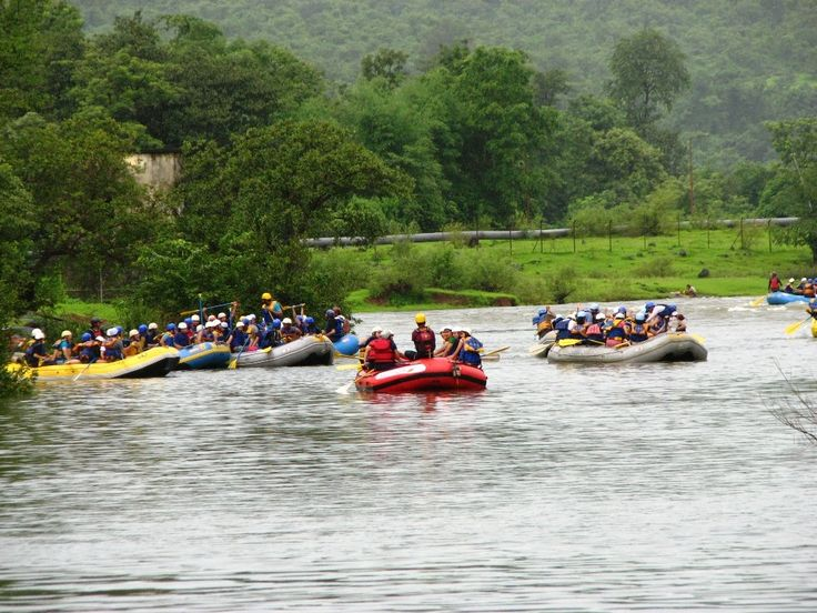 The Kundalika #Riverrafting #experience at #Kolad is the most #adventurous #whitewaterrafting experience to try near #Mumbai and #Pune. #River #Rafting at Kundalika river in Kolad, is about 2 hrs drive from Pune and Mumbai. #adventure #travel #gooutandexplore #outing