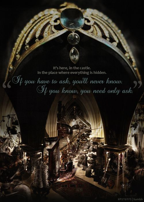 The diadem of Rowena Ravenclaw was my favorite of all of ...