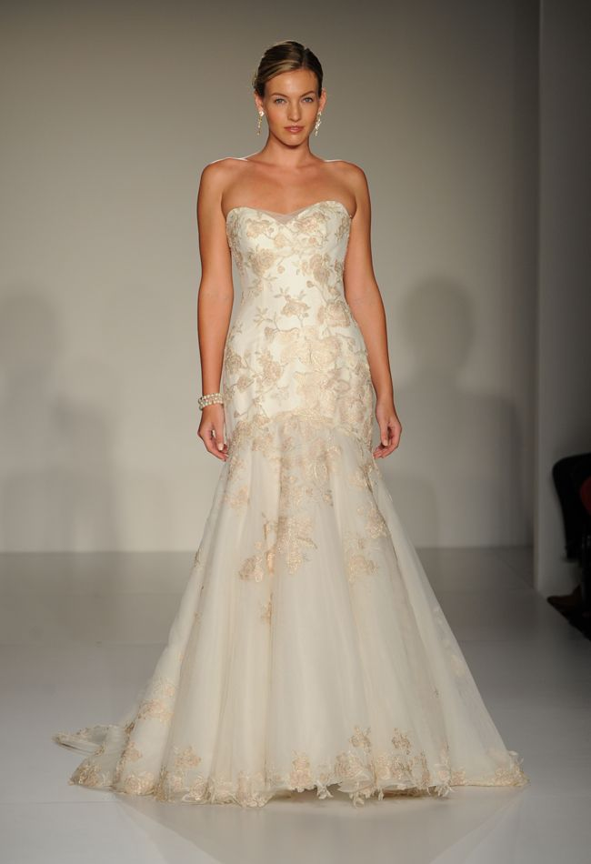 Mariella From Maggie Sotteros Spring 2015 Collection A Lovely Fit And Flare Wedding