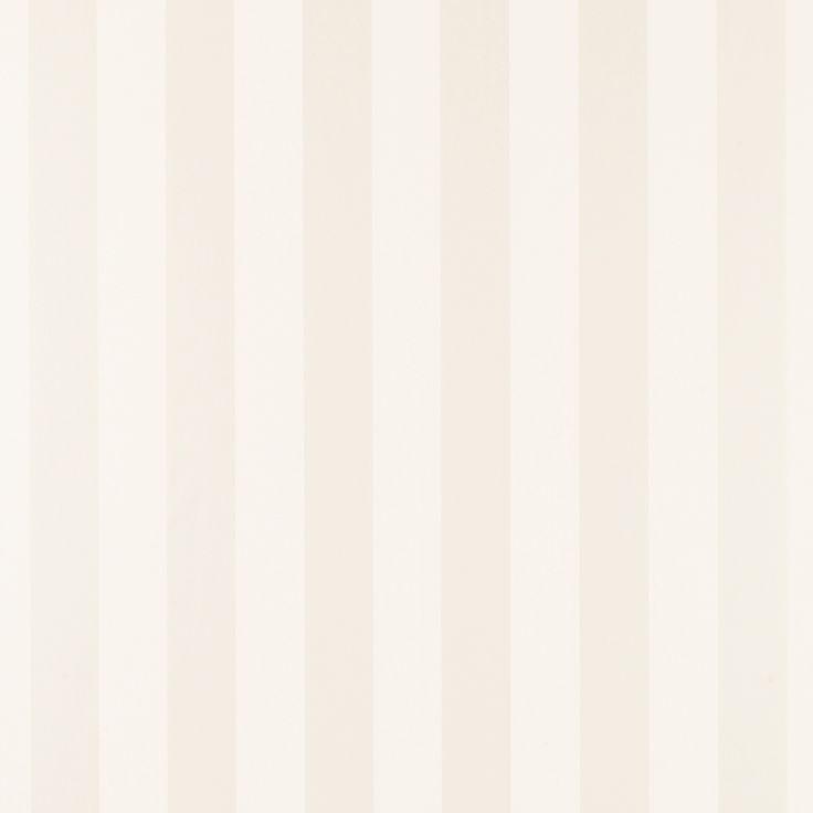 Lille White Stripe Wallpaper