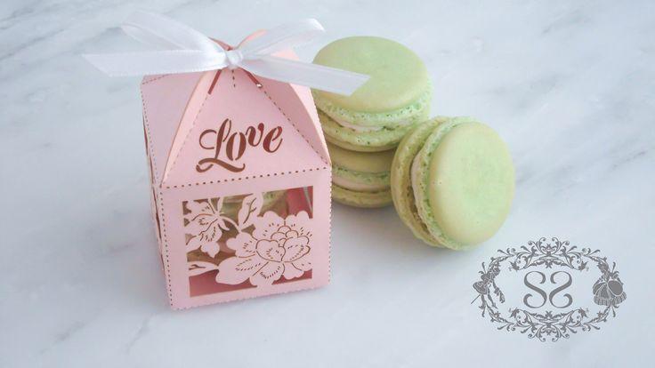 Wedding Favors Macaron Favor Wedding Love Favor Box and (2) French Macaroons by SplendidSweetShoppe on Etsy https://www.etsy.com/listing/112893301/wedding-favors-macaron-favor-wedding