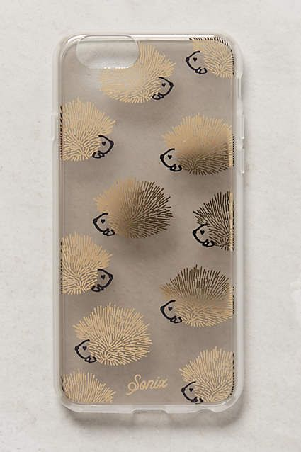 Hedgehog iPhone 6 Case - anthropologie.com Dammit, now I want an iphone.