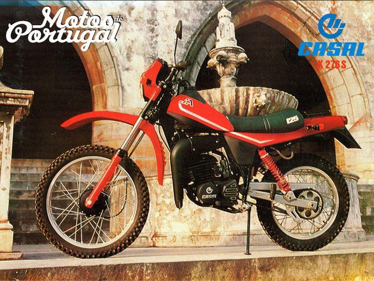 Motor 125cc de fabrico português