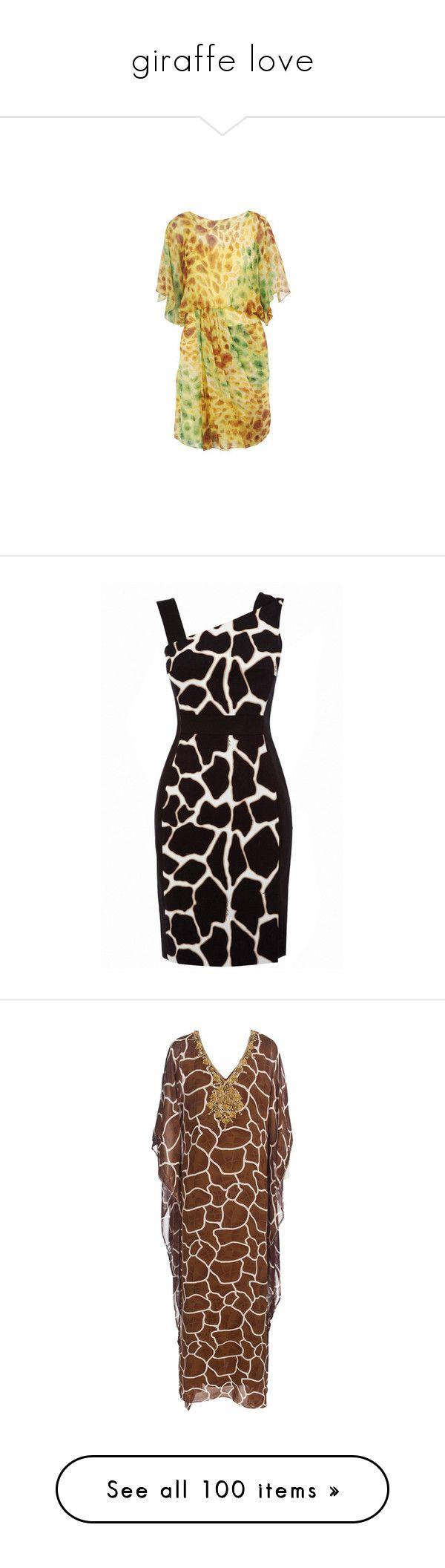 """giraffe love"" by aannggiiee ❤ liked on Polyvore featuring dresses, diane, furstenberg, green, von, ruffle sleeve dress, diane von furstenberg dress, green summer dress, beige summer dress and flutter sleeve dress"
