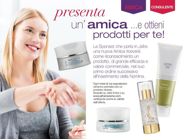 Fashionista Smile: Jafra Italia: Giveaway e Blogger Program