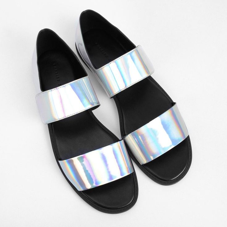 Velcro Strap Sandals   CHARLES & KEITH