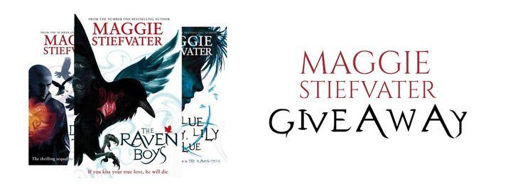 #MAGGIESTIEFVATER 3-book #kindle series #giveaway #amreading #yalit