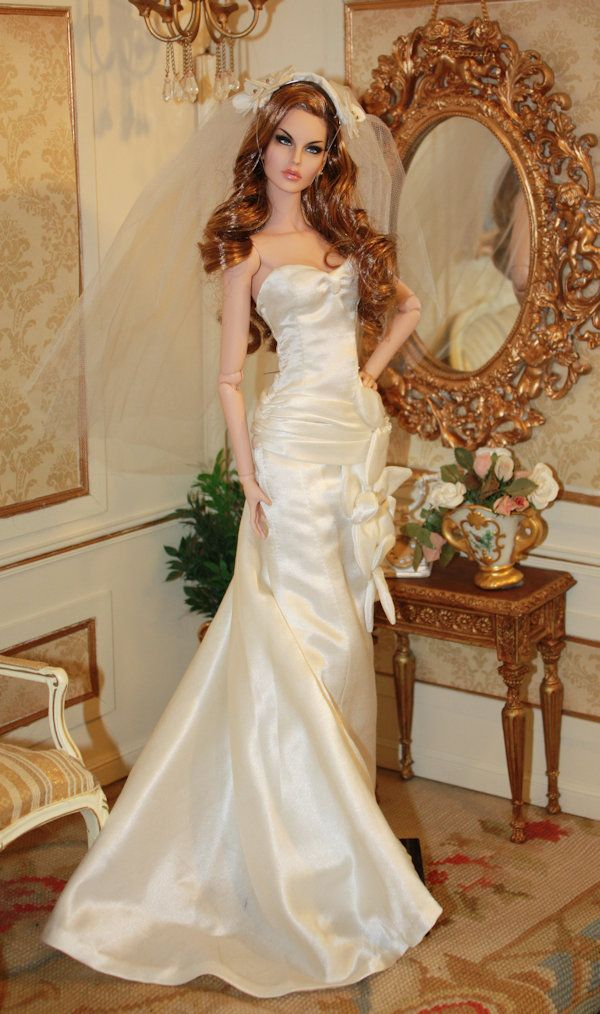 920 best images about barbie doll bridal gowns dresses for Wedding dresses for barbie dolls