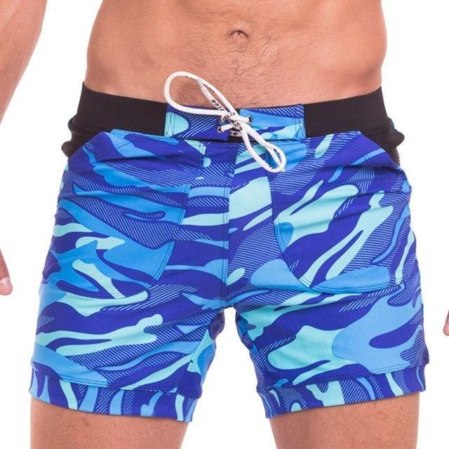 fdc48ebf90 MSA Signature Taddlee Men's Swimwear Swimsuits Boxer Briefs Trunks Board  Shorts Camo Beach Boxer Basic Long Bathing Suits