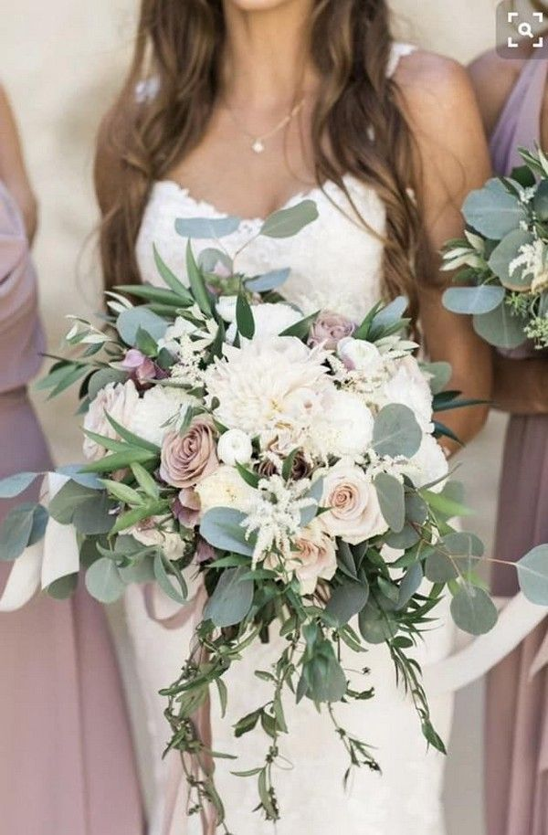 40 Mauve Wedding Color Ideas For 2020 Mauve Wedding Colors Winter Wedding Bouquet Lilac Wedding Bouquet