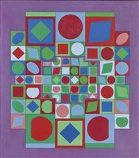 Folklore by Victor Vasarely