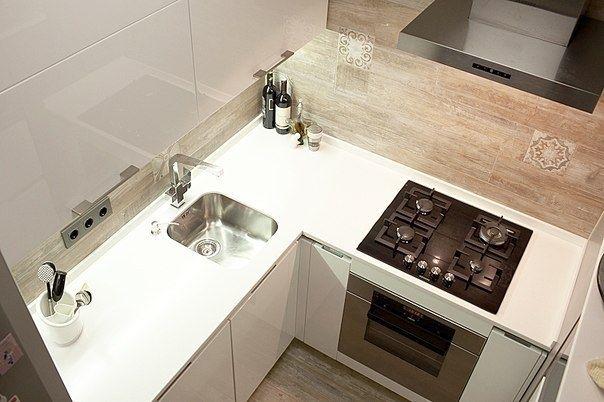 Небольшая кухня - Дизайн интерьеров | Идеи вашего дома | Lodgers