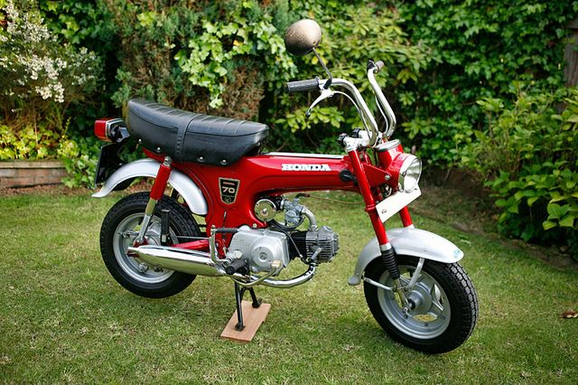 1972 Honda ST70 | Flickr - Photo Sharing!