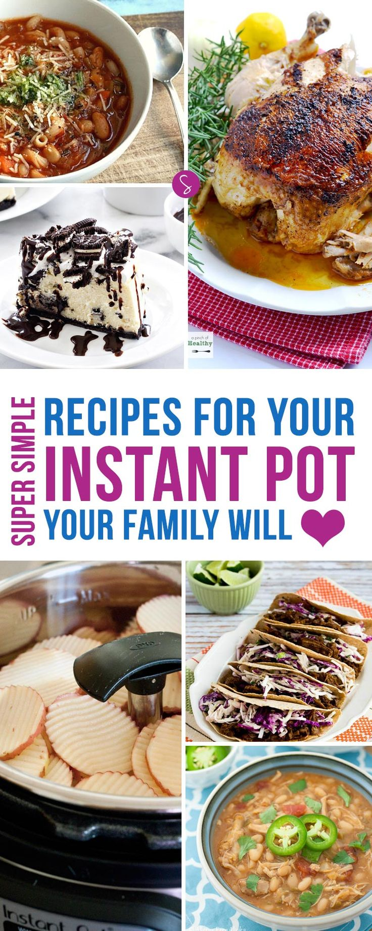 LOVING these Instant Pot recipes - ESPECIALLY that cheesecake!