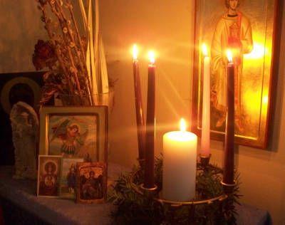 Кому молиться у домашнего алтаря