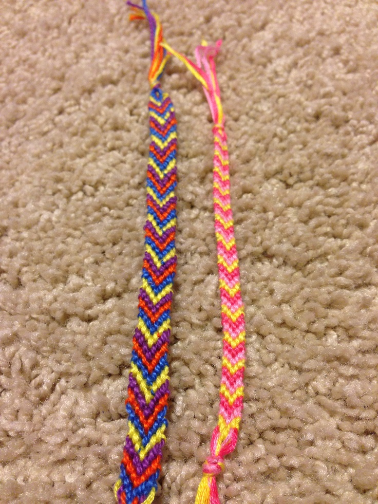 Chevron Bracelets! Right one is $3 left is $2