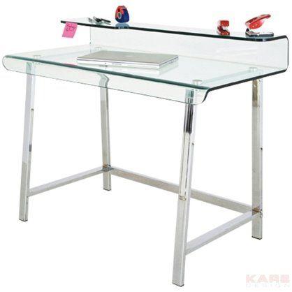 Biurko Visible Clear, kare design