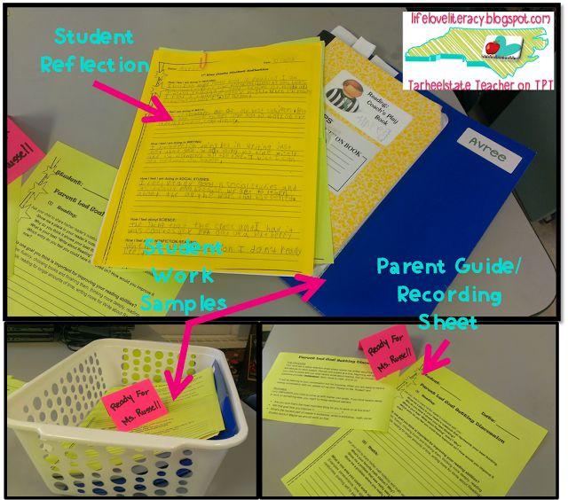 Student/Parent/Teacher Conferences and FREEBIElifeloveliteracy