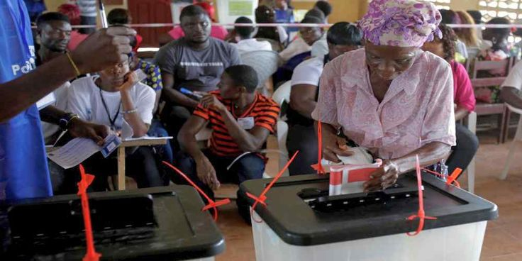 """Top News: """"LIBERIA POLITICS: Liberians Take Center Stage in Election Today"""" - https://i0.wp.com/politicoscope.com/wp-content/uploads/2017/10/A-woman-casts-her-ballot-during-presidential-elections-at-a-polling-station-in-Monrovia-Liberia.jpg?fit=1000%2C500 - """"I am just voting for peace. We want peace right now, peaceful country, we want a peaceful situation now and things to go fine,"""" said James Marthics, a voter in Paynesville, a suburb of the capital Monrovia.  Some ha"""