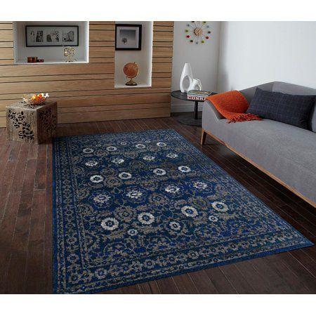 1454 Blue 8 X 10 Area Rug Carpet Large New Area Rugs Cheap Area