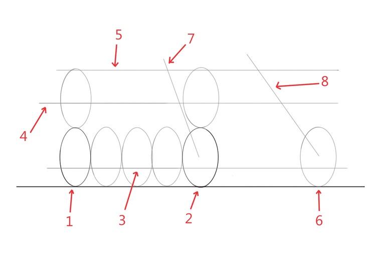 Motorsketch: 3/4 Flat view