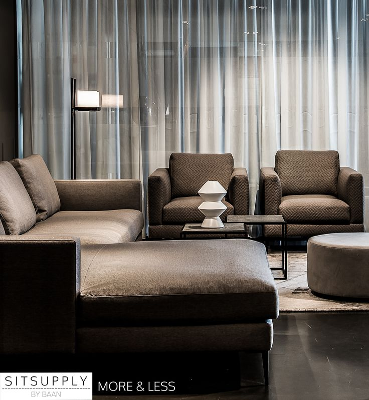 More bank by BAAN l Less fauteuil by BAAN l sfeerimpressie