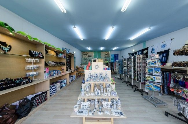 7th Heaven Tourist shop is located in the beautiful Tsilivi resort.   Here you will find all nesessary things and items you might need during your summer holidays.   Souvenirs for you and your loved ones and all sort of accessories are waiting for you to make your summer days stylish and carefree..