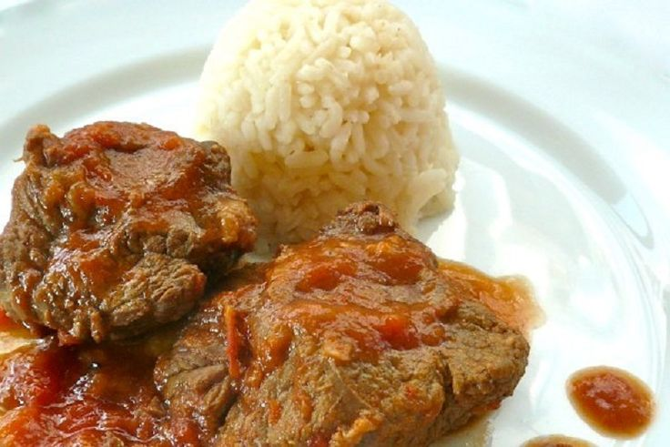 braised veal with red sauce: too good to be taken for granted!