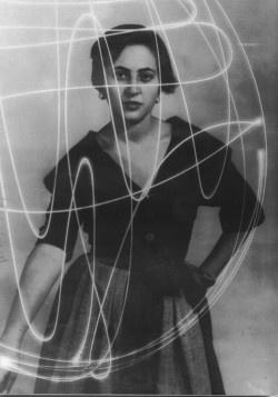 Italian painter Carla Accardi (1924-2014). Photographer unknown. via Galerie Greta Meert