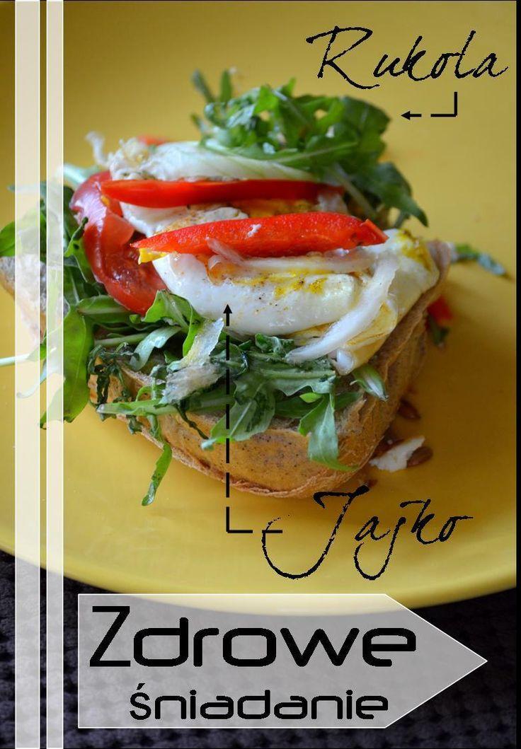 #dieta #healthy #śniadanie #breakfast #rukola #jajko #diet #food #warzywa #fit #vegetables #mishelkalife.blogspot.com
