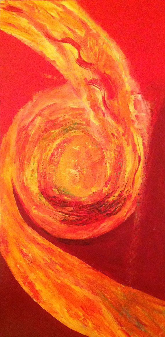 Abstract Art Paintings, Gel Medium, Texture